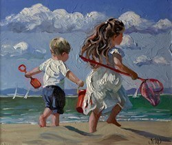 Joyful Times by Sherree Valentine Daines -  sized 14x12 inches. Available from Whitewall Galleries